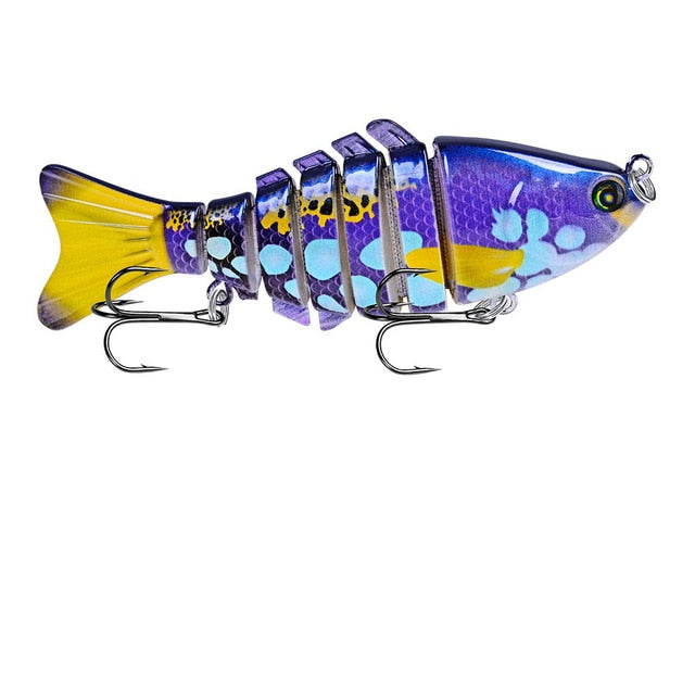 """FREE + S&H!!"" 1PCS Wobblers Fishing Lures Multi section Hard Bait 100mm15g Artificial Bait Minnow Crankbait"