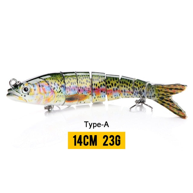⭐JUST ARRIVED⭐ YOUR'S FREE + S&H⭐ ⭐  WICKED 8 Segment Hard Bait