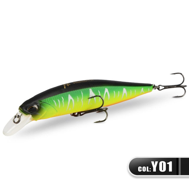 """YOUR'S FREE"" MEREDITH JERK MINNOW 100F 14g Hot Model Fishing Lure Hard Bait 24Color"