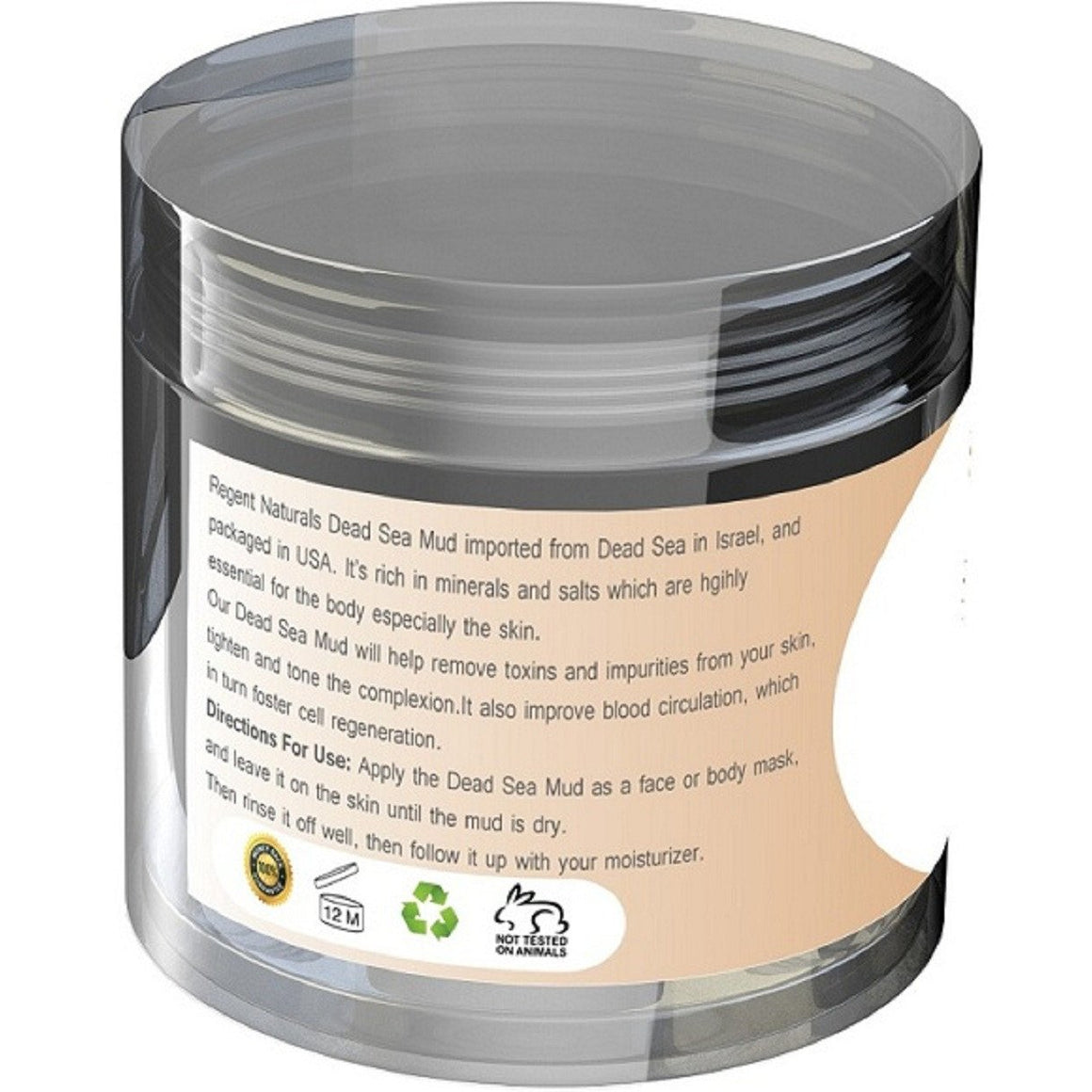 Premium Dead Sea Mud 6oz. Rich in Minerals from Dead Sea Israel. Get ONE Now!