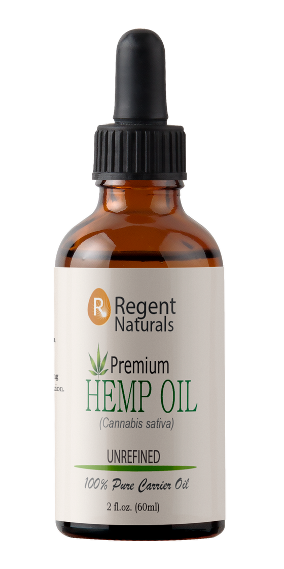 100% Pure Hemp Oil 60ml(2oz) Free Shipping