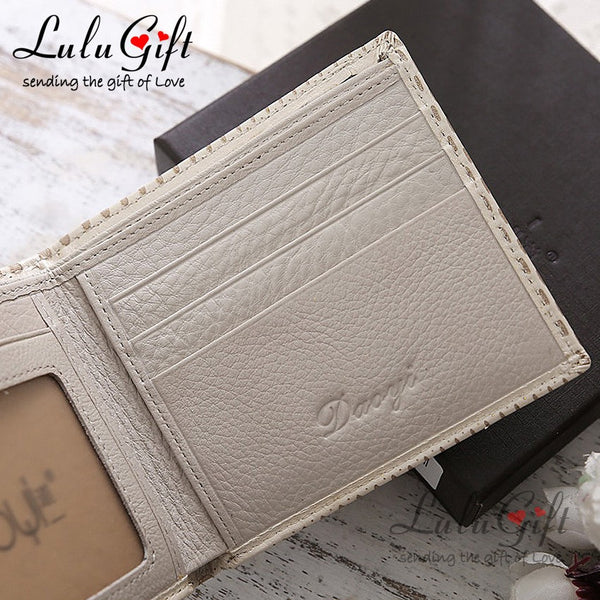 Vintage Pattern Design PU Leather Wallet