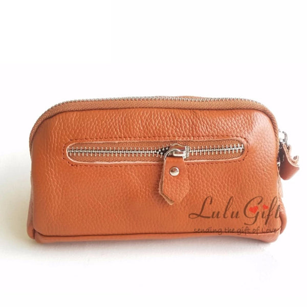 Genuine Leather Multiple Function Pochette