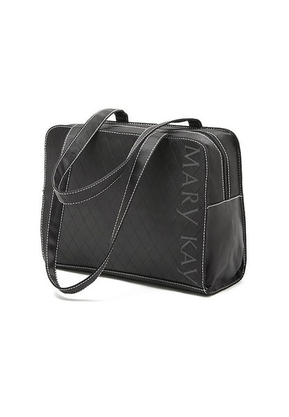 Simple MK Quilted Black Handcarry Bag