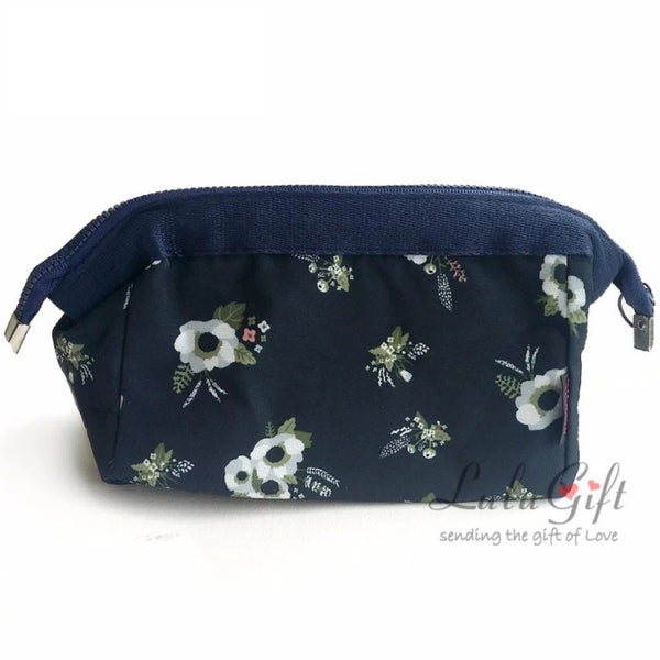 Korean Design Multi Purpose Make-Up Purse Flower/ Leaf