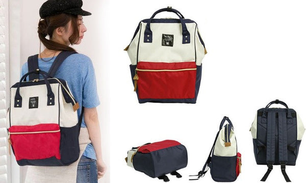 Anello Authentic Japan Imported Canvas Unisex Size M Backpack 【anello®】