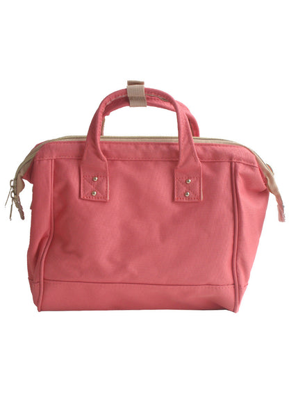 Authentic Anello Japan Imported Canvas Unisex Size M Peach Sling Handbag - Lulugift.com :Affordable Designer Handbags malaysia bag murah