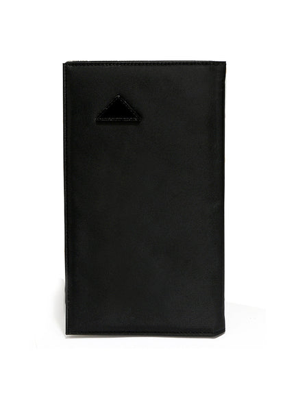Multiple Function Passport 2 in 1 Long Width Wallet Black 1