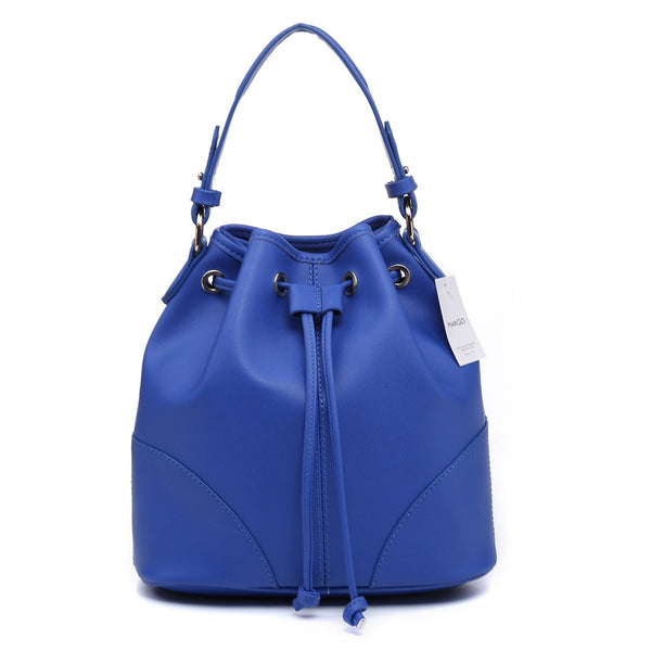 Lulugift TSAR Sylish Leather Sling Bag Blue