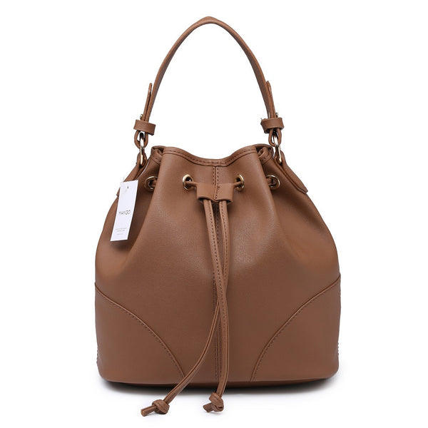 Lulugift TSAR Sylish Leather Sling Bag Coffee