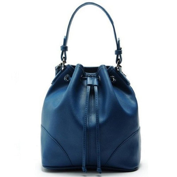 Lulugift TSAR Sylish Leather Sling Bag Deep Blue