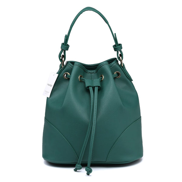 Lulugift TSAR Sylish Leather Sling Bag Green