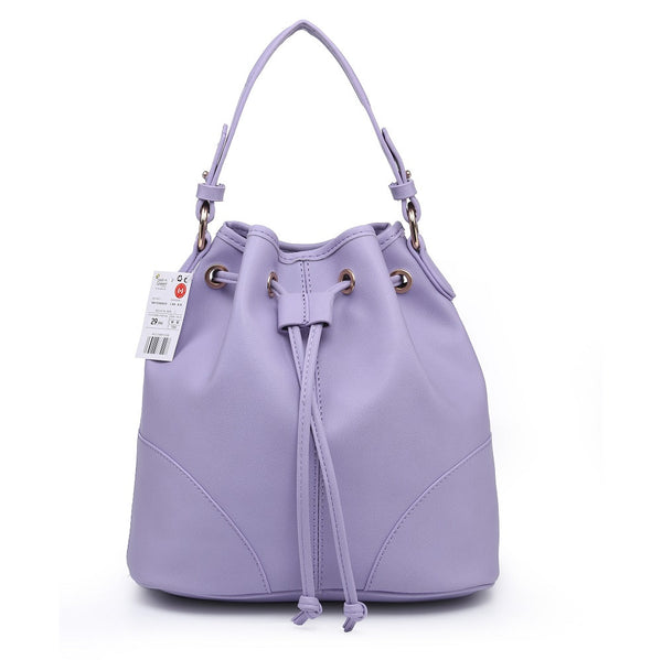 Lulugift TSAR Sylish Leather Sling Bag Purple