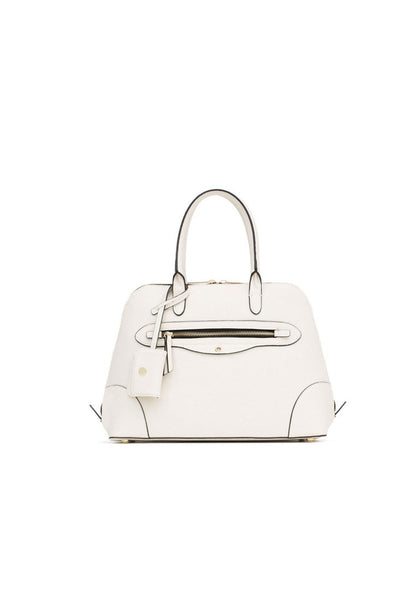 Special Zipper Urban Leisure Shoulder bag Diagonal White