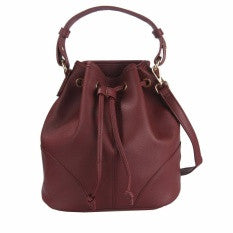 Lulugift TSAR Sylish Leather Sling Bag Wine