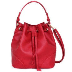 Lulugift TSAR Sylish Leather Sling Bag Red