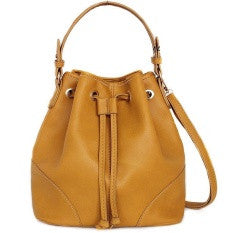 Lulugift TSAR Sylish Leather Sling Bag Yellow