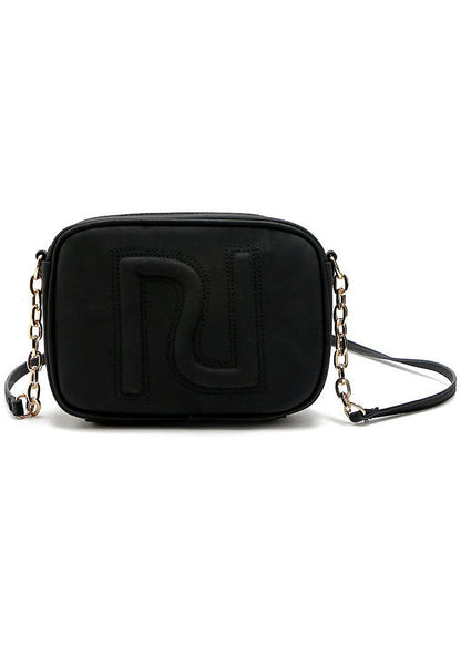 Unique PU Leather Chain Sling Bag