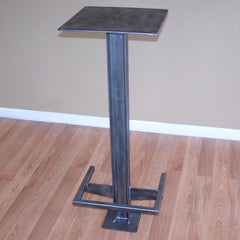 Stand up cafe table base