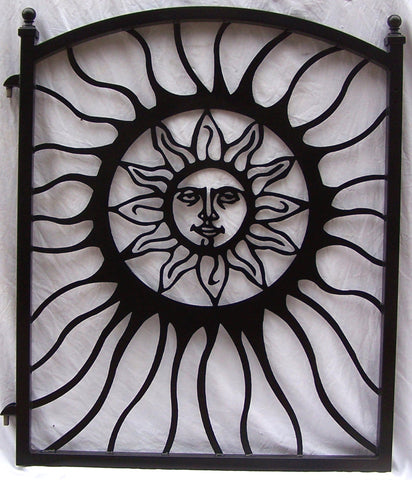 Custom Sun Gate in Black for Ray