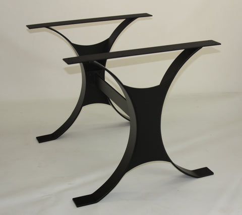 Custom Table Base in Black for Dan Customer ref Groves
