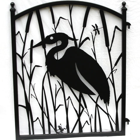 Custom Heron Wall Decor Panel