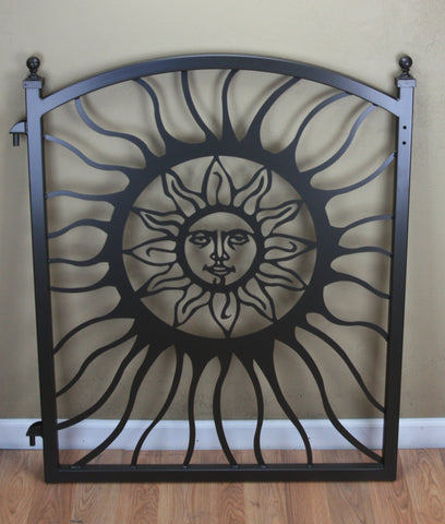 2 Custom Sun Gates in Black