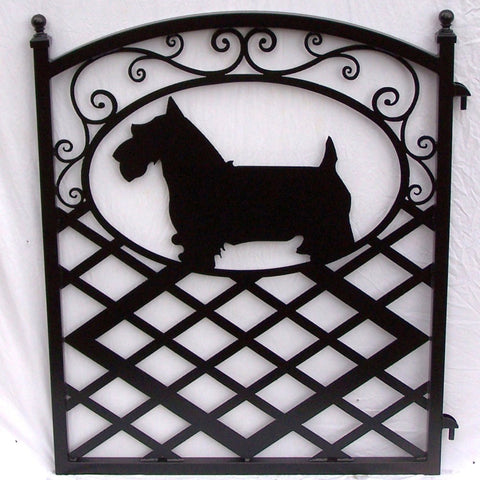 Scotty Dog Fence Gate Image 1