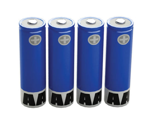 Four AAA Batteries