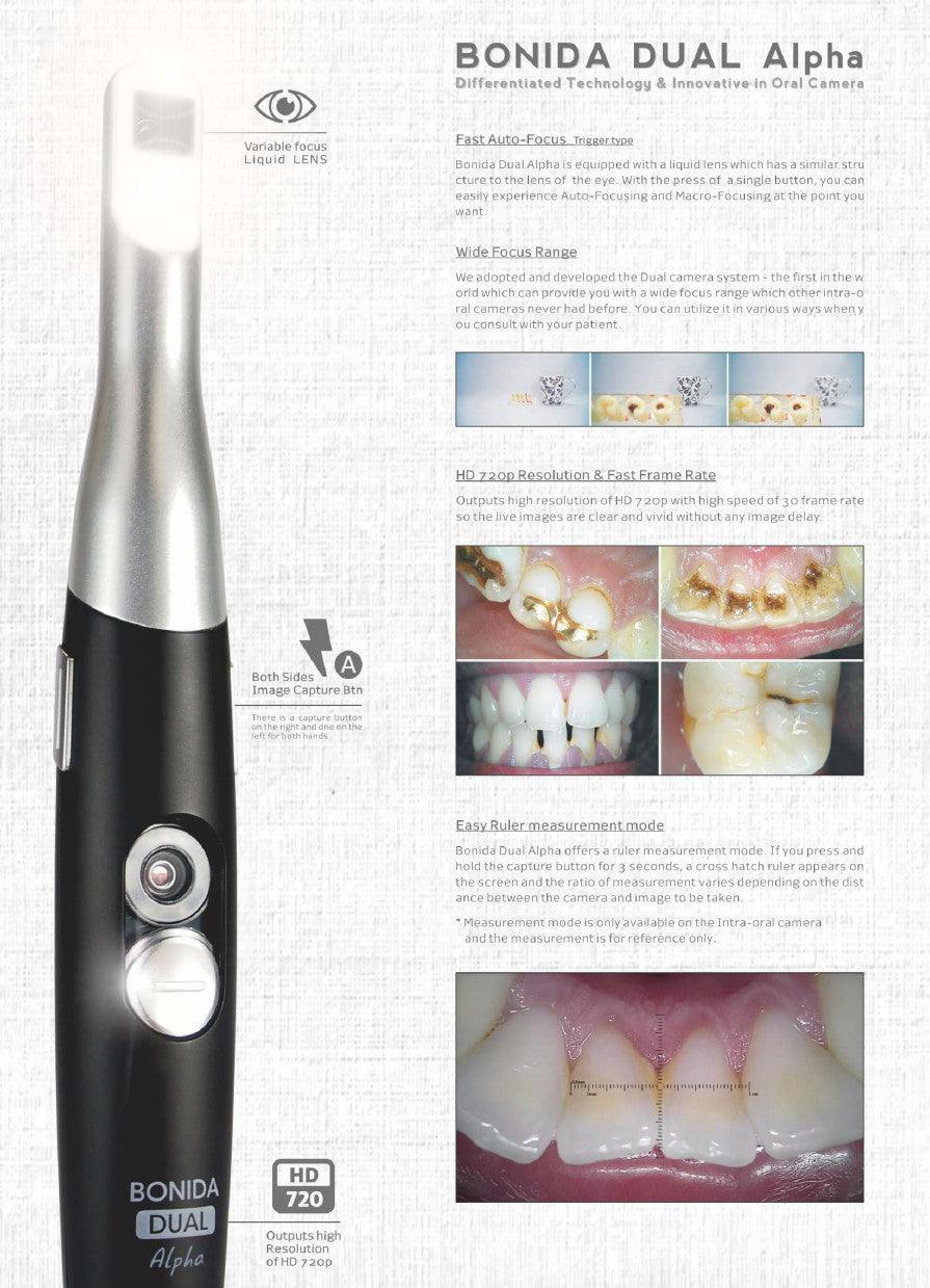 Bonida alpha - intraoral camera