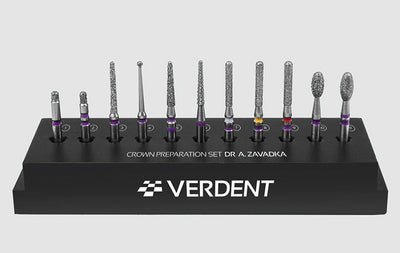 Quick Crown preparation Burs Set by Dr Zavadka