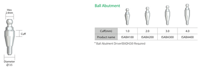 IS Ball Abutment
