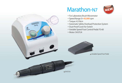 Marathon N7 Micromotor for Lab and Chairside