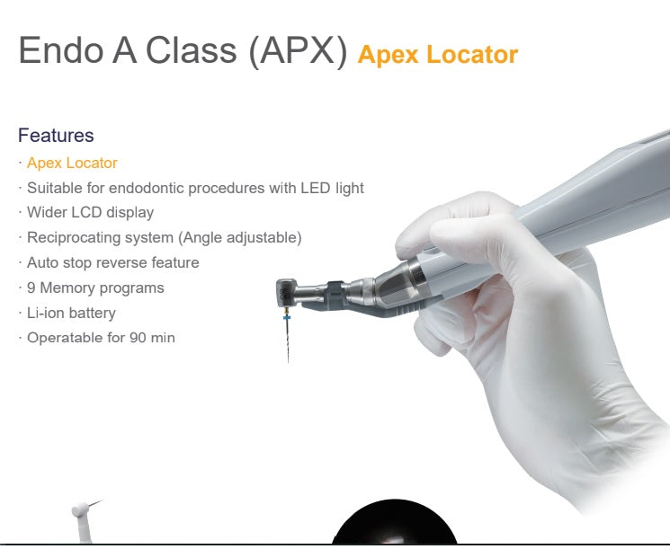 Krafit Endo APX - LED Optic Wireless with Apex locator