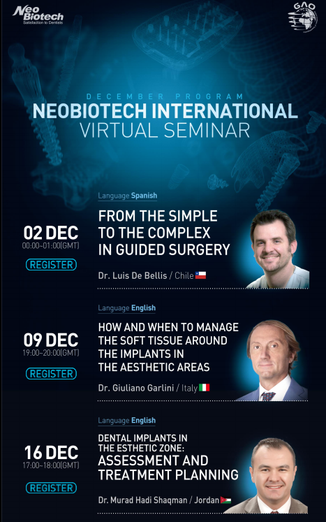NeoBiotech International Virtual Seminars
