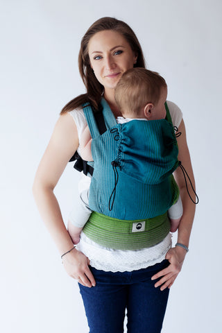 Little Frog Ergonomic Carrier - Dark Bazzite