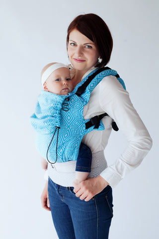 Little Frog Ergonomic Carrier - Sky Cube