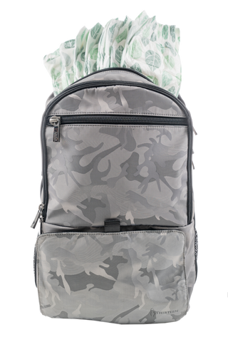 *NEW* 13Thirteen Diaper Backpack - Silver Camo