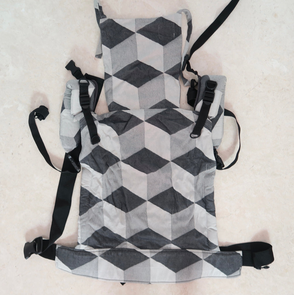 (DEMO) Ankalia Up Toddler Carrier - Rubix Slate