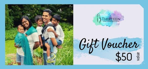 13Thirteen Gift Voucher - $50