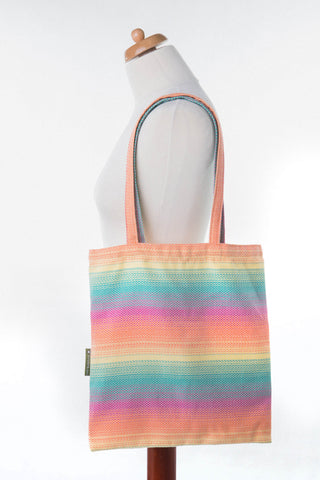 LennyLamb Shopping Bag - Little Herringbone Imagination
