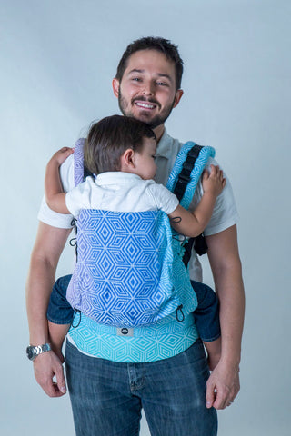 Little Frog Ergonomic Carrier - Aurora Cube