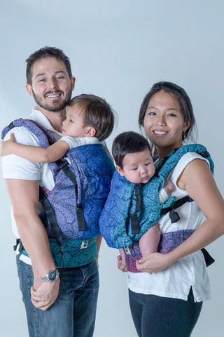 Little Frog Ergonomic Carrier - Beloved Dahlias
