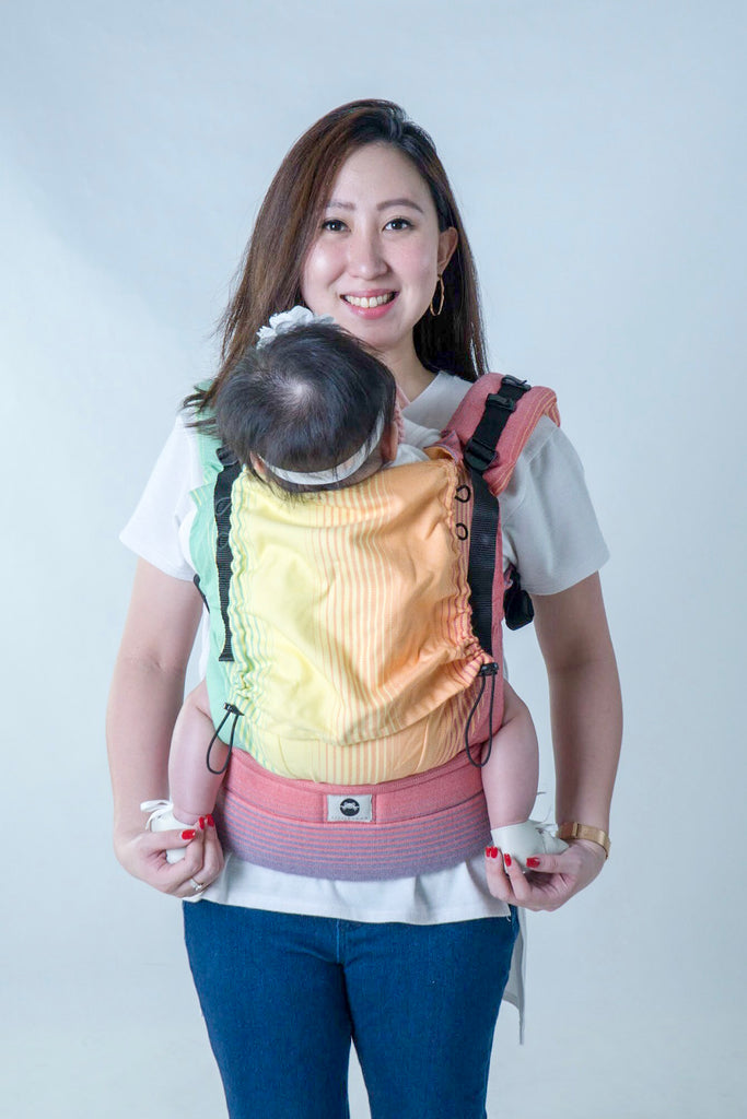 Little Frog Ergonomic Carrier - Sandy Ammolite