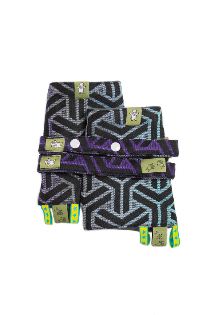 LennyLamb Drool Pads and Reach Straps - Trinity Cosmos