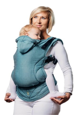 LennyLamb Basic Line Toddler Carrier - Amazonite