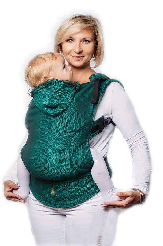 LennyLamb Basic Line Toddler Carrier - Emerald