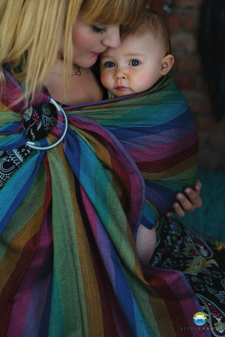 Little Frog Ring Sling - Dark Spectrolite