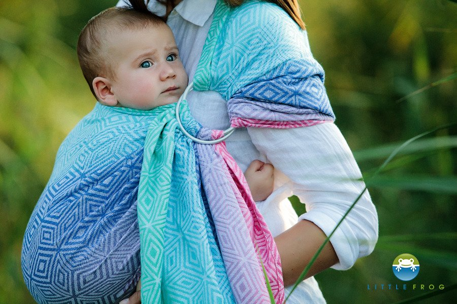 Little Frog Ring Sling - Aurora Cube