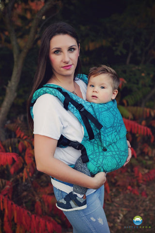 Little Frog Toddler Carrier - Ocean Abyss